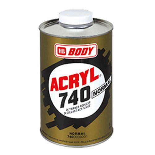 HB-Body Disolvente Acrílico 740